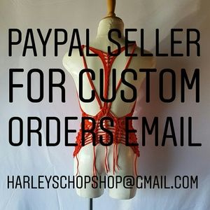 FOR CUSTOM ORDERS PLEASE EMAIL @HARLEYSCHOPSHOP
